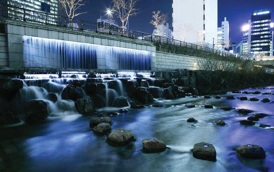 Kết quả hình ảnh cho Dòng suối Chengonggyecheon